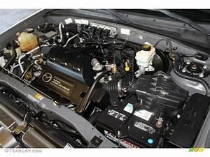 2005 Mazda Tribute S Engine Photos