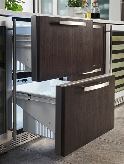 undercounter refrigerator drawers monogram professional kitchens