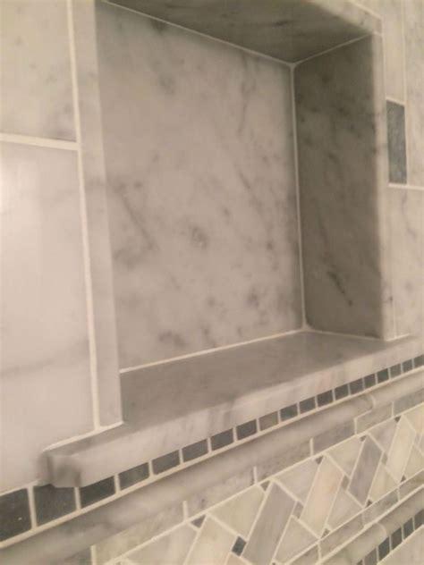 Tile Installer In Massachusetts by Shower Tile Installation In Downtown Newburyport Ma