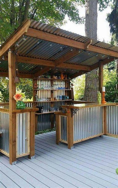 outdoor bar designs plans hawk haven