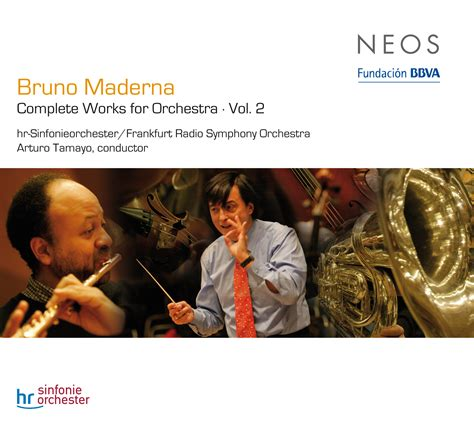 Complete Works For Orchestra Vol 2  Bruno Maderna Neos