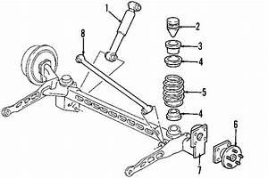 2005 Pontiac Montana Suspension Ride Height Sensor  Rear