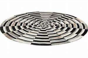 Tapis Rond Design : tapis spiral 250cm tapis rond pas cher ~ Teatrodelosmanantiales.com Idées de Décoration