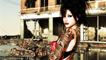 Tattoo Wallpapers Tattooed 3d Inked Daz Wallpaperstock