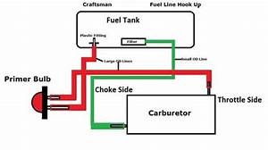 Poulan Pro 262 Fuel Line Diagram