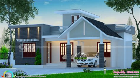 bedroom  budget house  square feet kerala home