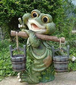 Dekoration Für Garten : frosch xxl 40 cm hoch design 1 deko garten gartenzwerg figuren dekoration ebay ~ Sanjose-hotels-ca.com Haus und Dekorationen
