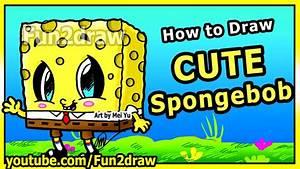 Learn to Draw Spongebob Step by Step Easy - Cute Cartoons ...
