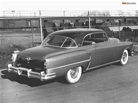 Chrysler Imperial Newport 2-door Hardtop 1953 images ...