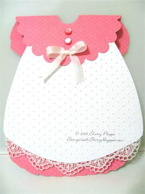 baby girl dress card  sosherry  splitcoaststampers