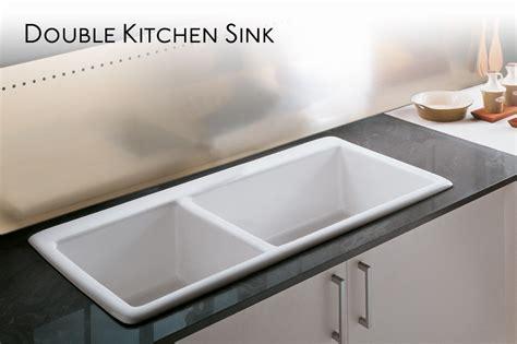 double porcelain kitchen sink double kitchen sink