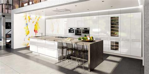 cuisine avec ilots modele cuisine avec ilot central table collection et