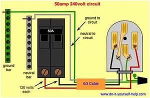 Rv 50 Amp Breaker Wiring Diagram