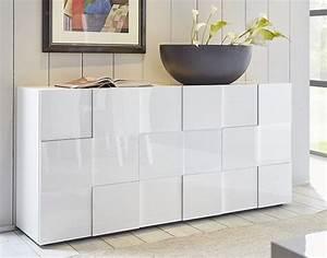 Buffet Design Pas Cher : buffet design laqu blanc kube pas cher buffet miliboo ~ Teatrodelosmanantiales.com Idées de Décoration