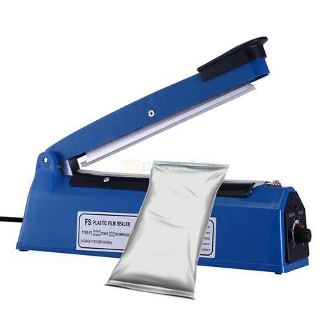 heat sealing tools impulse sealer seal packing poly element plastic bags ebay
