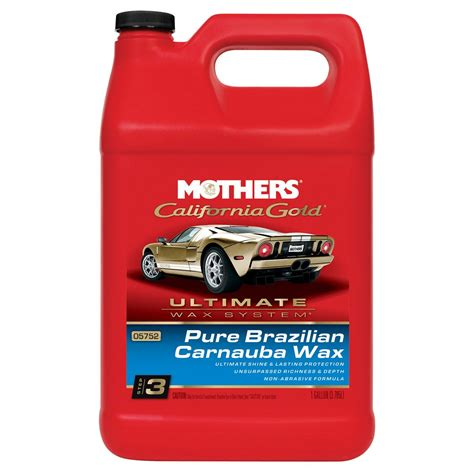 Mothers California Gold Pure Carnauba Car Wax 128 oz.