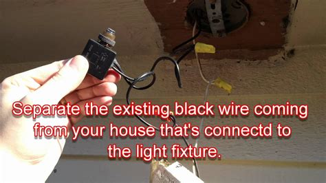 Porch Light With Photocell Wiring Diagram by How To Convert Any Outdoor Light To Turn On Automatically