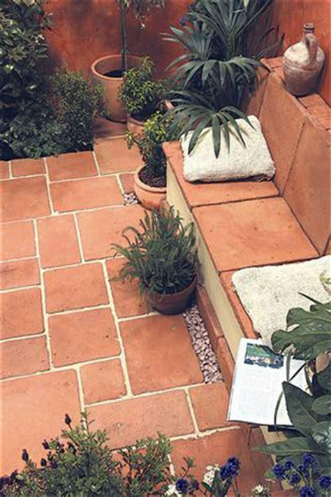 terracotta garden tiles barton fields patio and garden centre terracotta paving slabs tiles