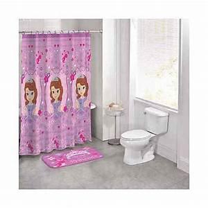 Disney princess sofia the first 14 piece bath set for Disney princess bathroom set