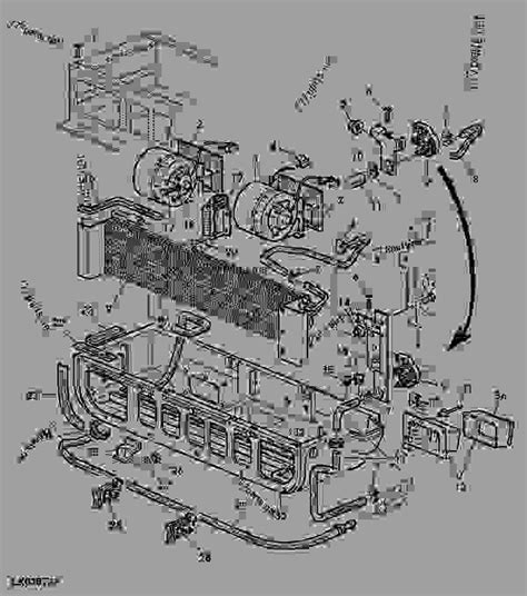 Deere 6320 Wiring Diagram by Heating And Blower Without Air Conditioning Tractor