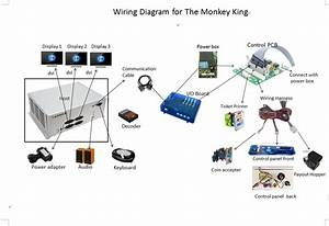 Wiring Diagram Details For Lottery Arcade Game