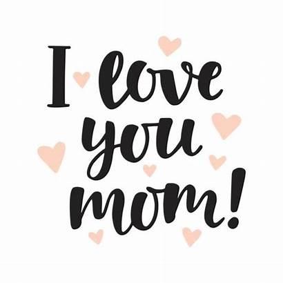 Mom Amo Scritta Geschreven Mamma Della Written