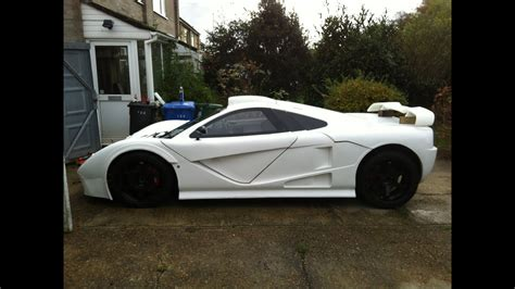 kit car build ddr motorsport gt mclaren f1 replica style pre bodyshop review youtube
