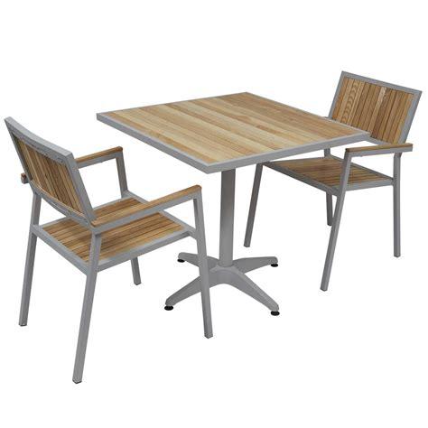 table et chaises jardin awesome table de jardin aluminium et chaise images