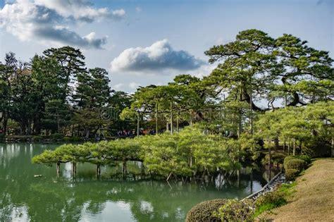 uno piu giardino giardini di kanazawa giappone immagine stock immagine