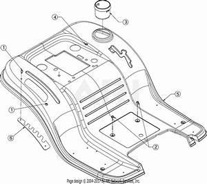 Mtd 13ax795s004  2016  Parts Diagram For Fender
