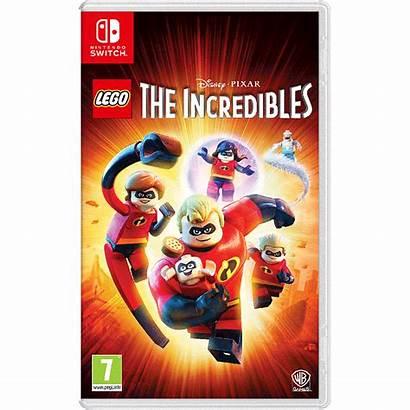 Incredibles Lego Switch Nintendo Games Pixar Disney