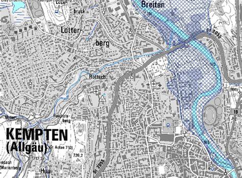 Hochwasser Bayern Karte