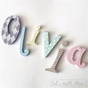 Buchstaben Für Kinderzimmertür : holzbuchstaben f r die kinderzimmert r bel macht blau ~ Orissabook.com Haus und Dekorationen