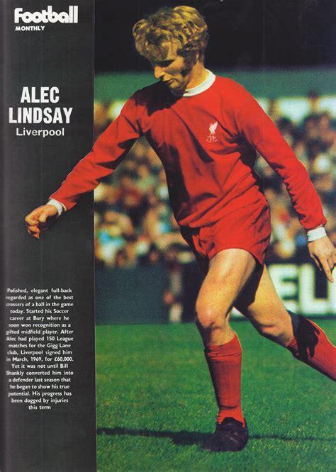 liverpool career stats  alec lindsay lfchistory