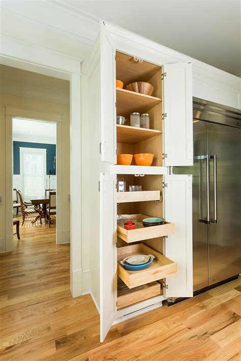 Kitchen Pantry Cabinets with Pull Out Trays & Shelves