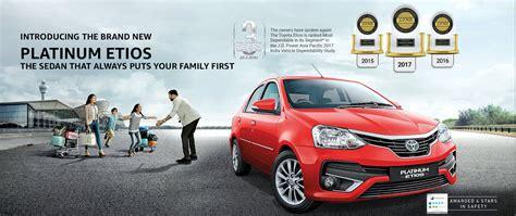 Official Toyota Platinum Etios Site