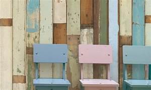Lasiertes Holz überstreichen : mit holz tapeten zur ck zu den wurzeln trend tapeten ~ Lizthompson.info Haus und Dekorationen