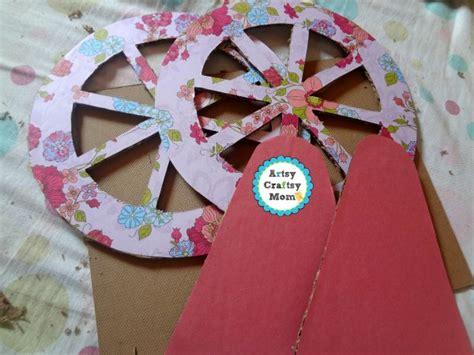 valentine ferris wheel craft artsy craftsy mom