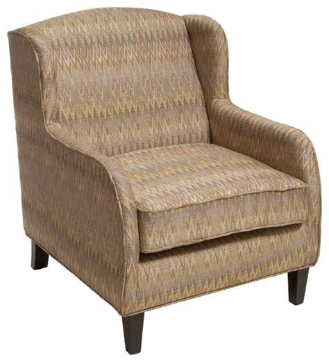 conrad upholstered wingback chair traditional