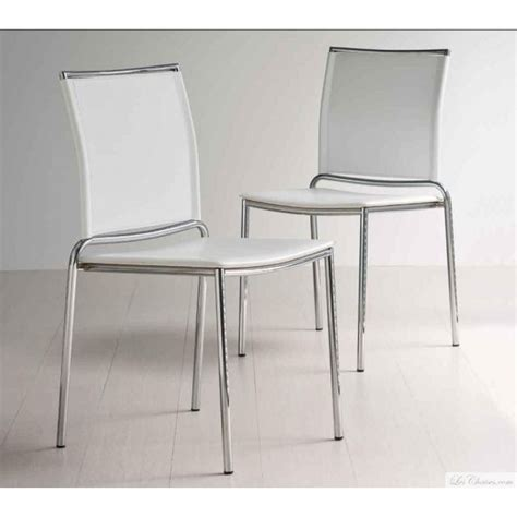 chaises cuisine fly chaise blanche moderne fly et chaises moderne midj