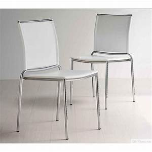 Chaise Blanche Moderne FLY Et Chaises Moderne MIDJ