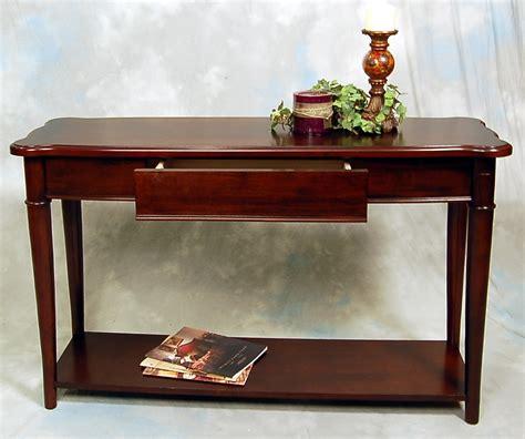 hazelnut narrow sofa console table ebay