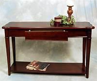 narrow console table Hazelnut Narrow Sofa Console Table | eBay