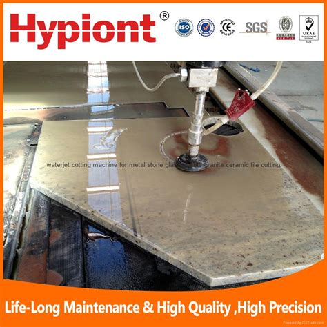water jet cutting machine for ceramic tile marble