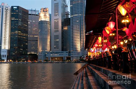 boat quay  singapore attraction  singapore