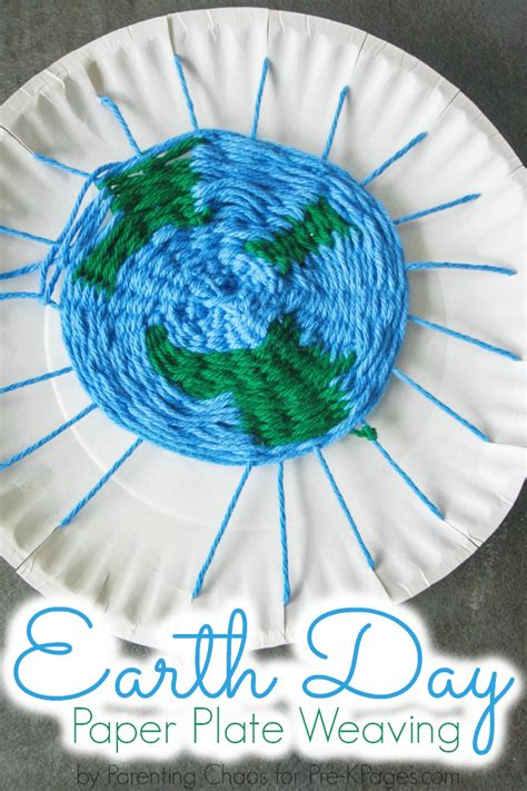 earth for preschoolers earth day paper plate weaving pre k pages 222