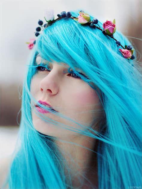 month  hair colors today cyan shades  haircut web