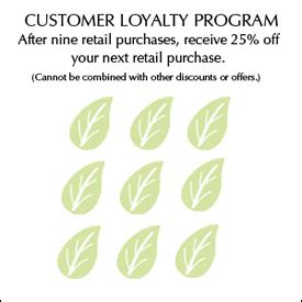 tips bits  loyalty cards
