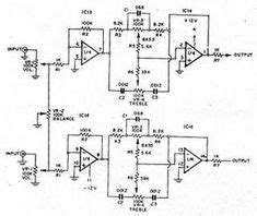 Stereo Preamplifier Circuit Schematic Diagrams