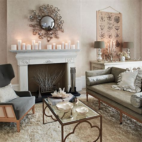 Soft Grey And Cream Living Room  Living Room Decorating